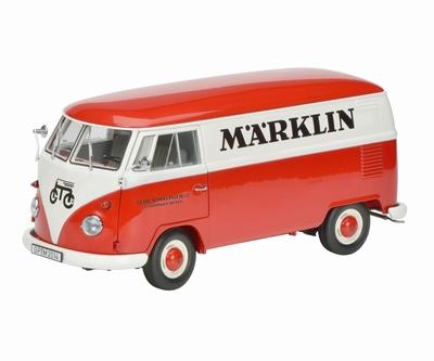 Schuco 1:18 Volkswagen T1 bus Marklin rood wit