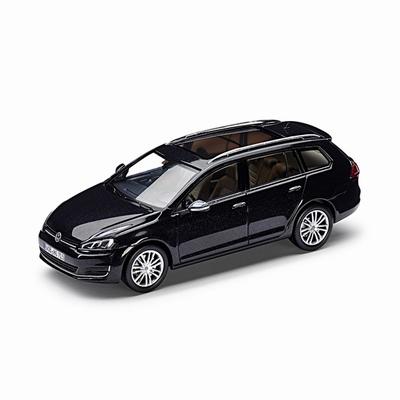 Schuco 1:43 Volkswagen Golf Variant zwart 2012