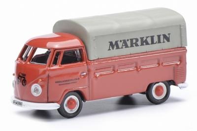 Schuco 1:87 Volkswagen T1 Marklin Pickup rood