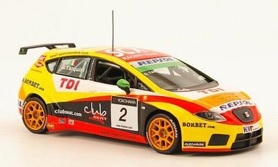 Seat 1:43 Seat Leon WTTCC Tarquini No2