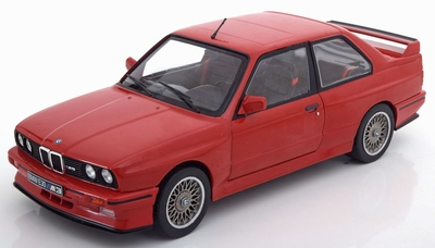 Solido 1:18 BMW M3 E30 rood 1990