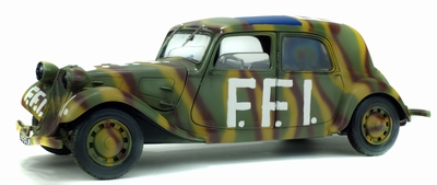 Solido 1:18 Citroen Traction 11CV FFI
