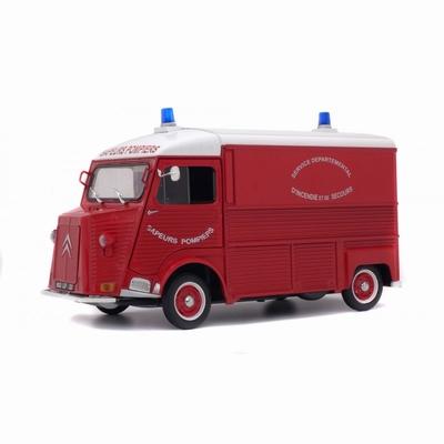 Solido 1:18 Citroen Type HY Pompier 1969