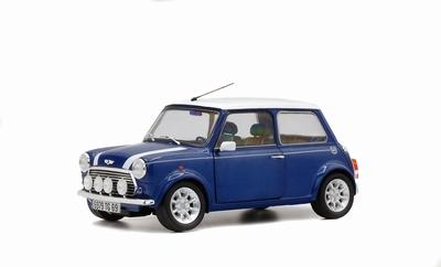 Solido 1:18 Mini Cooper Sport Pack Tahiti blauw