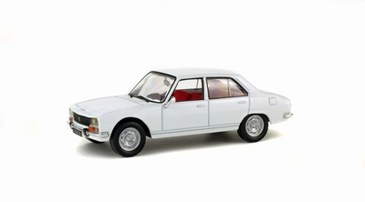 Solido 1:43 Peugeot 504 1969 wit