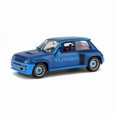 Solido 1:43 Renault 5 Turbo 1980 blauw