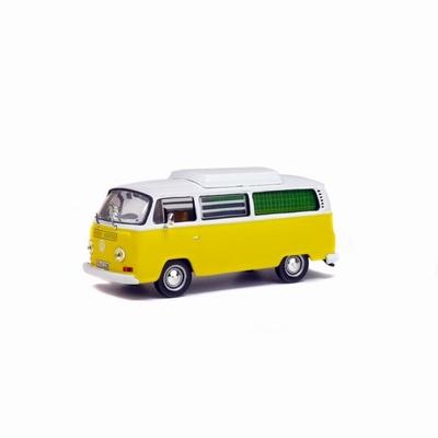 Solido 1:43 Volkswagen Combi Camping Car 1972 geel met wit