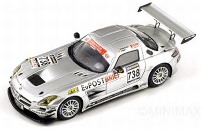 Spark 1:43 Mercedes Benz SLS AMG GT3 738 2010
