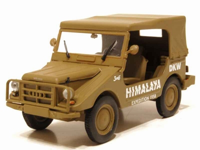 Starline 1:43 DKW Munga 4 Himalaya Expedition sand