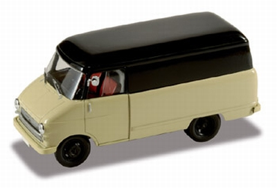 Starline Opel Blitz 1960 kastenwagen bestelauto beige/zwart
