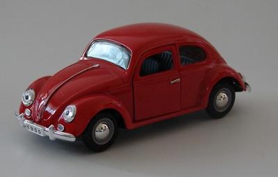Sunnyside 1:24 Volkswagen Kever rood per stuk