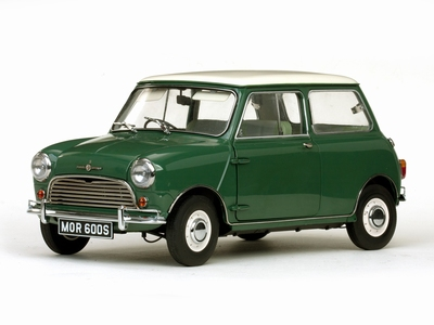 Sunstar 1:12 Morris Cooper S 1963 almond green