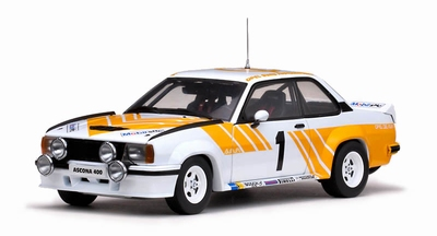Sunstar 1:18 Opel Ascona 400 No1 geel/wit