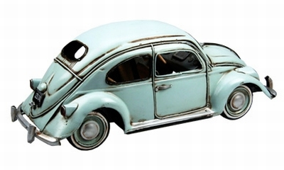 Tinplate Collectables 1:24 Volkswagen Kever blauw