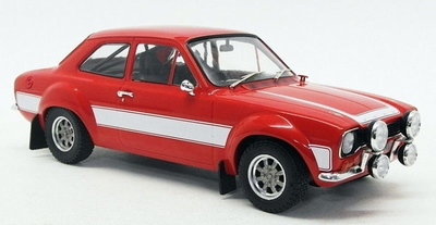 Triple9 Collection 1:18 Ford Escort RS 2000 MKI 1973 rood
