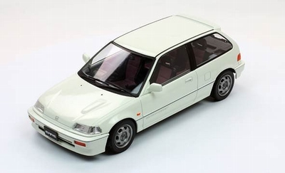 Triple9 Collection 1:18 Honda Civic EF-3 Si 1987 wit