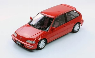 Triple9 Collection 1:18 Honda Civic EF-9 SiR VTEC 1990 rood