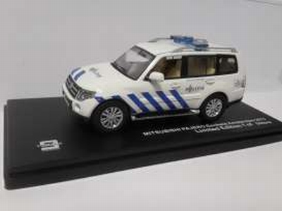Triple9 Collection 1:43 Mitsubishi Pajero Amsterdam politie