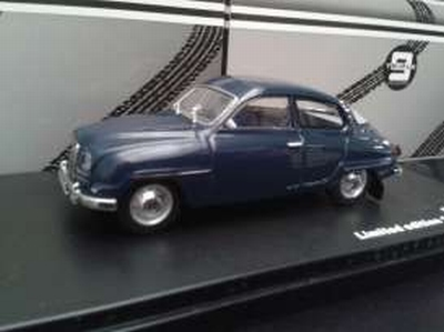 Triple9 Collection 1:43 Saab 96 1964 donkerblauw