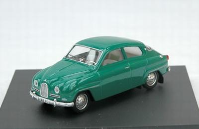 Trofeu 1:43 Saab 96 1961 groen