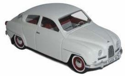 Trofeu 1:43 Saab 96 1961 wit