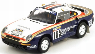 True Scale 1:18 Porsche 959/50 Dakar Rally Raid 1986 ICKX