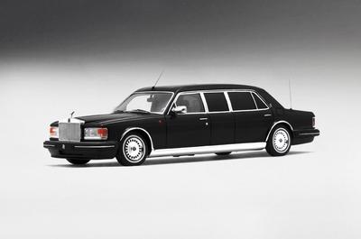 True Scale 1:43 Rolls Royce Silver Spur Limousine 1991