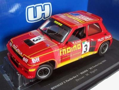 Universal Hobbies 1:18 Renault 5 Turbo 1984 Momo No 3 rood