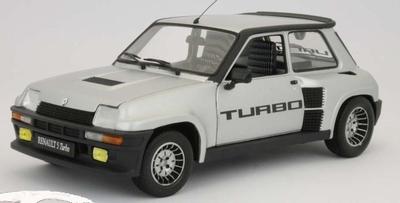 Universal Hobbies 1:18 Renault 5 Turbo 2 zilver