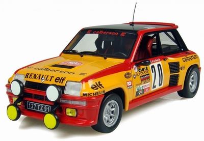 Universal Hobbies 1:18 Renault 5 Turbo No 20 RMC