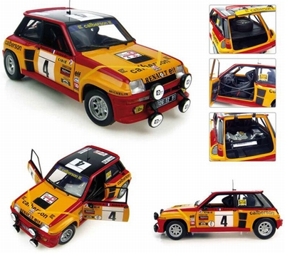 Universal Hobbies 1:18 Renault 5 Turbo No 4 Calberson