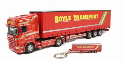 Universal Hobbies 1:50 Scania R480 Boyle Transport