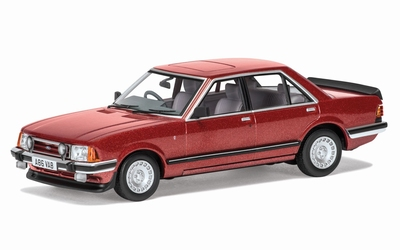 Vanguards 1:43 Ford Granada MK II 28i Ghia metallic rood RHD