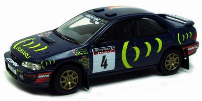 Vanguards 1:43 Subaru Impreza 2000CC Turbo Corlin Mcrae