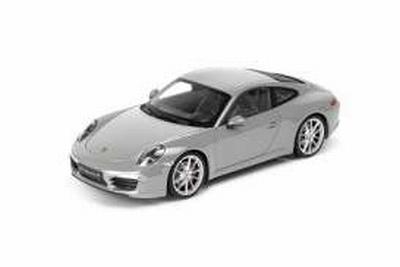 Welly 1:18 Porsche 911 991 Carrera S 2012 grijs