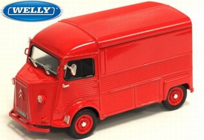 Welly 1:24 Citroen HY Bus rood