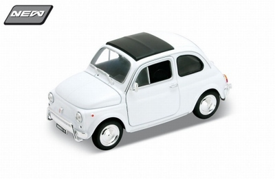Welly 1:24 Fiat 500 wit