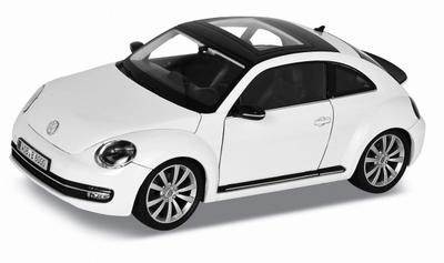 Welly 1:24 Volkswagen New Beetle wit 2012