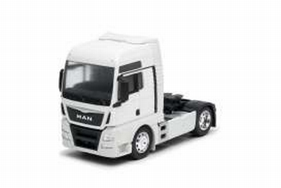 Welly 1:32 MAN TGX (4x2) wit, trekker