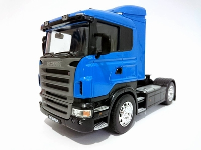 Welly 1:32 Scania R470 blauw
