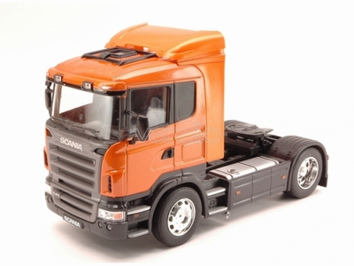 Welly 1:32 Scania R470 oranje