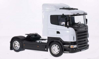 Welly 1:32 Scania R470 wit