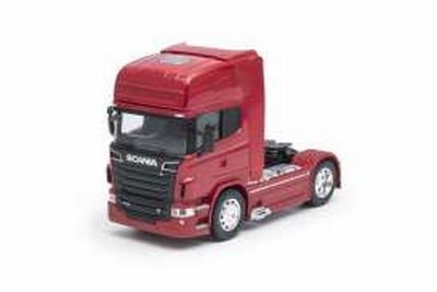 Welly 1:32 Scania V8 R730 (4x2) 2015 rood, trekker
