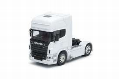 Welly 1:32 Scania V8 R730 (4x2) 2015 wit, trekker