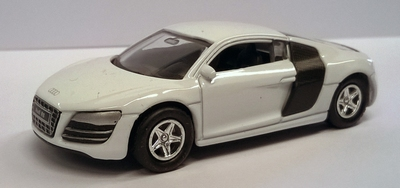 Welly 1:60 Audi R8 V10 wit