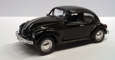 Welly 1:60 Volkswagen Beetle zwart