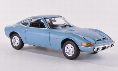 Whitebox 1:24 Opel GT 1900 1970 metallic lichtblauw