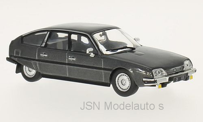 Whitebox 1:43 Citroen CX 2400 GTI 1977 donkergrijs metallic