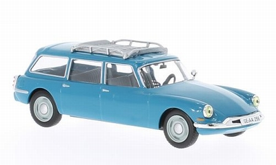 Whitebox 1:43 Citroen ID 19 Break 1960 blauw