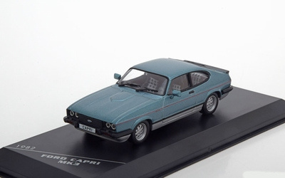 Whitebox 1:43 Ford Capri MK3 2.8 1982 Injection metallic bla